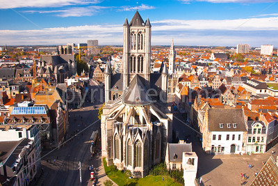 Ghent from the Belfry tower