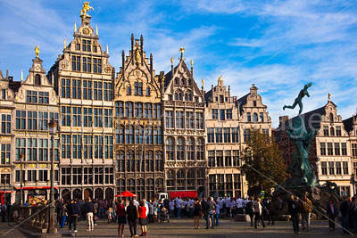 Grote Markt square in Antwerp