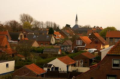 Hooftplaat (Netherlands). Here we spent the second night