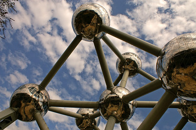 Atomium (in the vicinity of Brussels)