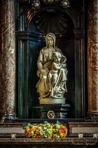 Michaelangelo's Madonna and the Child