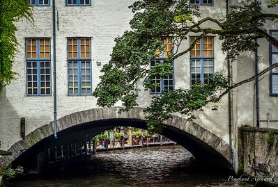 View from Bonifacius Bridge, Bruges
