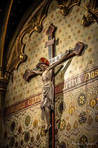 Inside of Basilica of the Holy Blood, Bruges