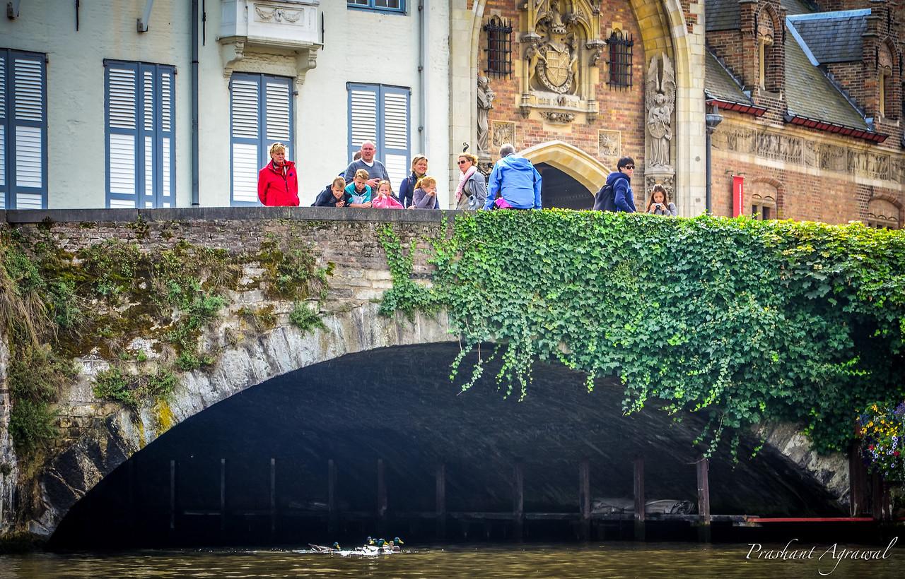 Bridge at Nieuwstraat, Bruges