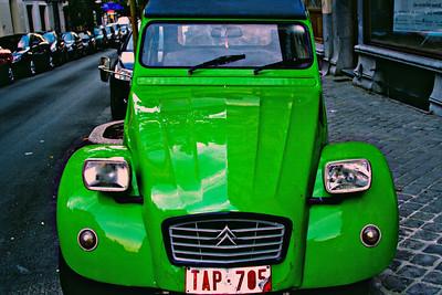 Ol' Green Citroen