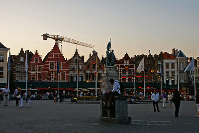 Evening in Brügge