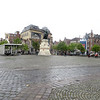 Vrijdagmarkt Square (Friday Market Square).  big town market day used to be Friday, as the name indicates.  Nowadays there are market stalls here on Sunday.  The square is ringed with shops and cafes.