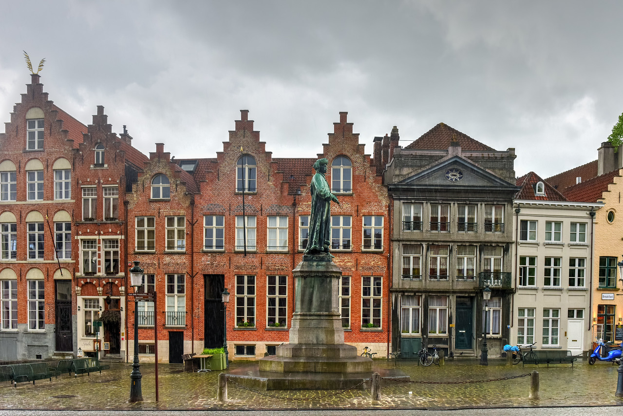 Jan van Eyck in Bruges, Belgium