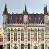 Burg Square Town Hall - Bruges, Belgium
