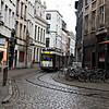 Tram in the old city