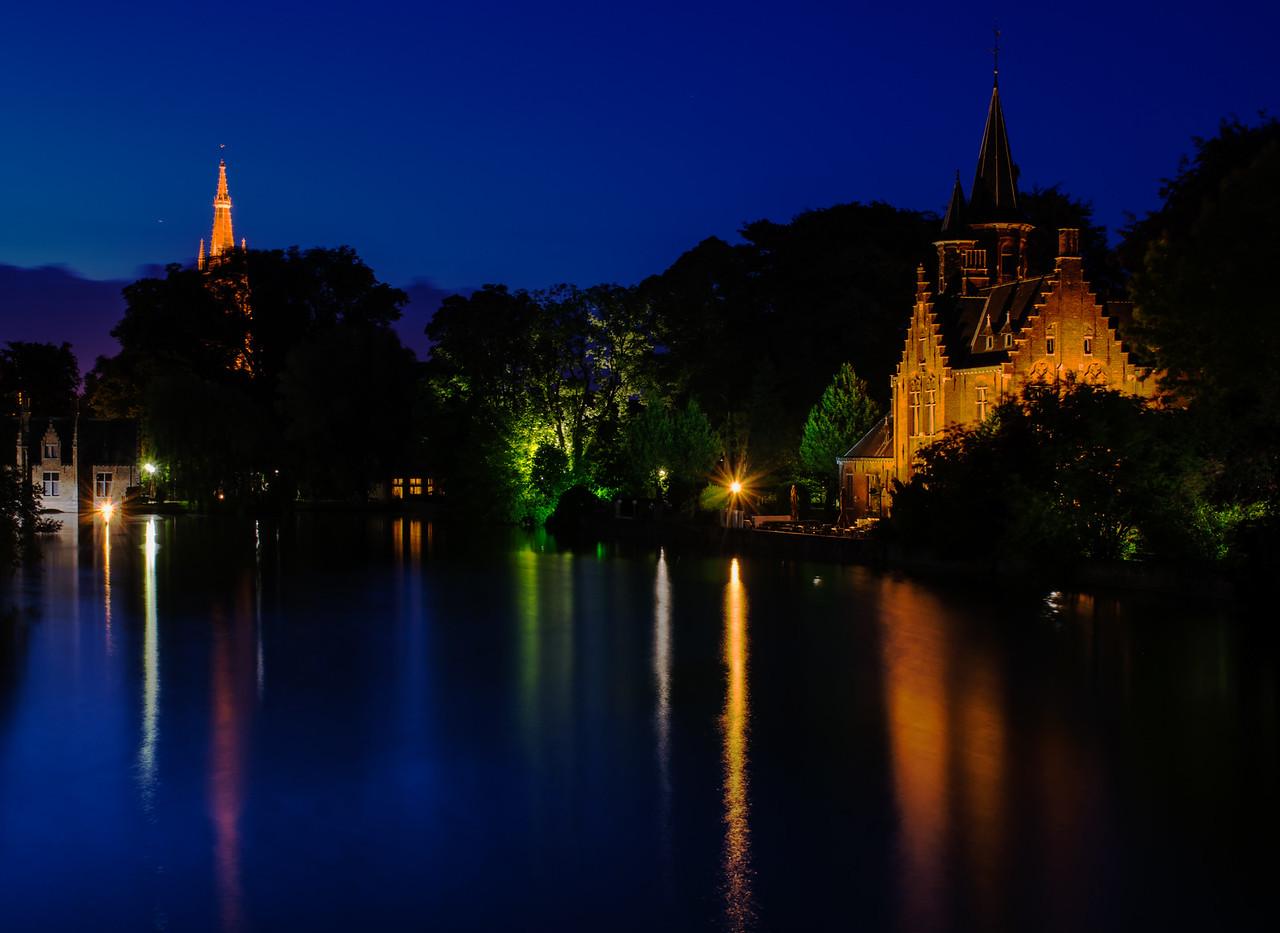Minnewater Bruges Belgium