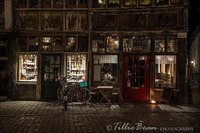 Ghent, Belgium. Kraanlei