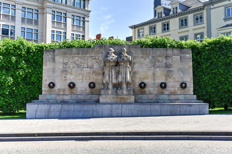Anglo-Belgian War Memorial in Brussels
