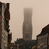 Belfry in the mist