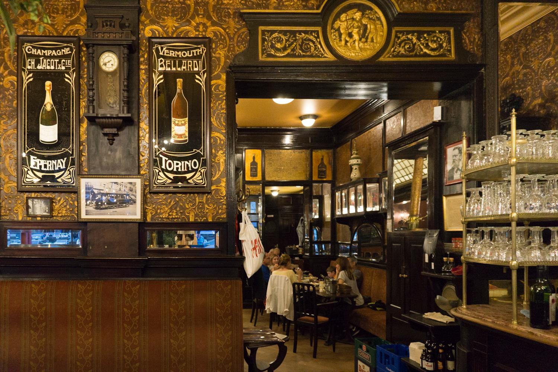 Le Cirio restaurant in Brussels Belgium