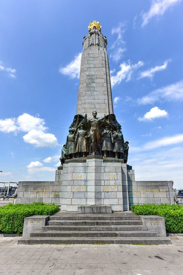 Infantry Memorial - Brussels, Belgium