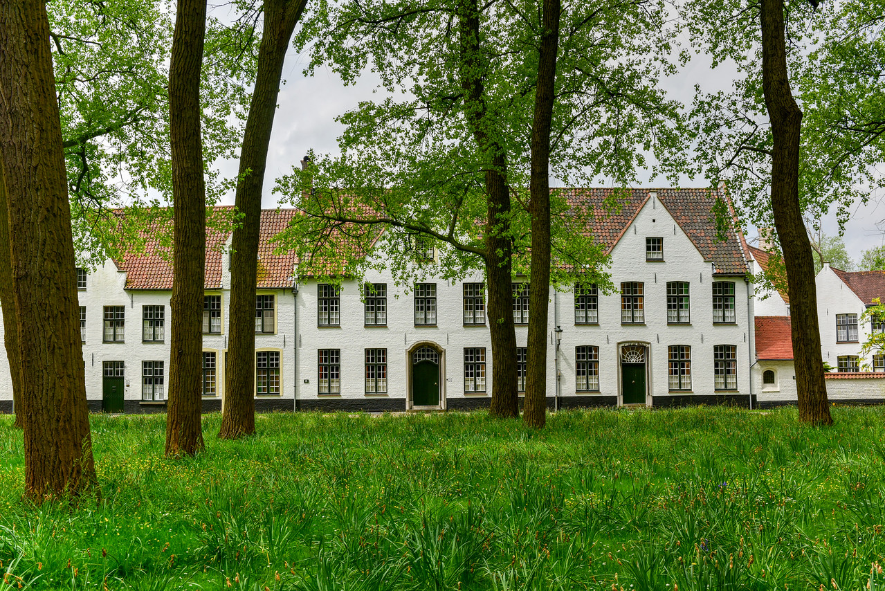 Princely Beguinage Ten Wijngaerde Bruges Belgium
