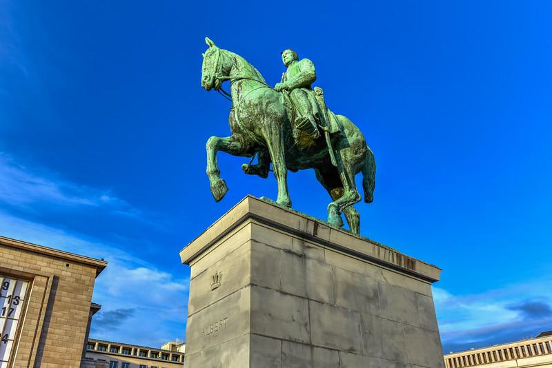 King Albert I - Brussels, Belgium