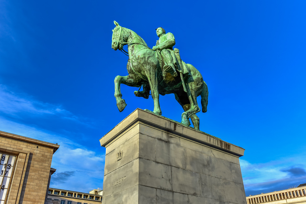 King Albert I - Brussels, Belgium