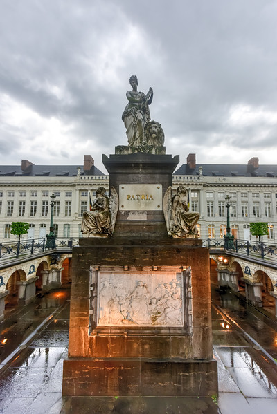 Martyrs' Square - Brussels, Belgium