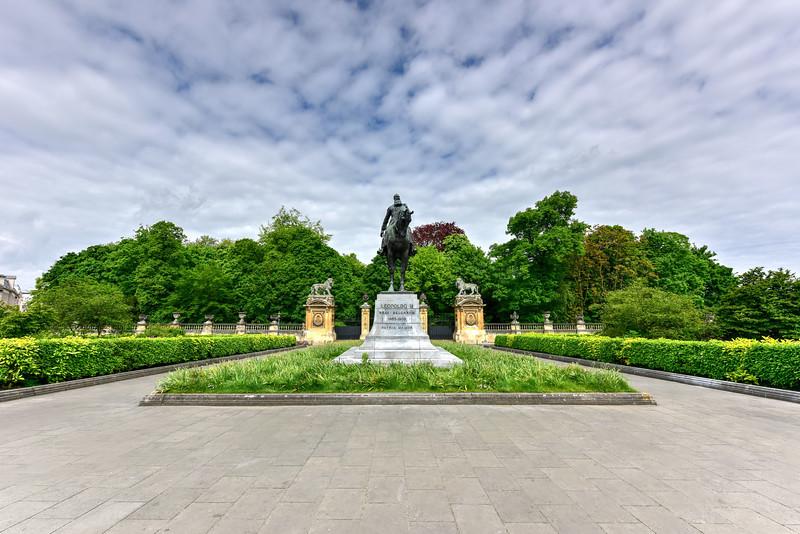 Leopold II Statue - Brussels, Belgium