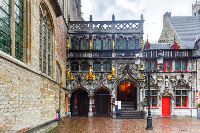Basilica of the Holy Blood - Bruges, Belgium