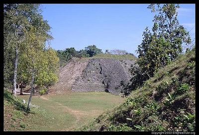 Smaller pyramid at Xunantunich