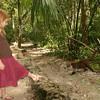 Belize 2007: Tikal -  Ziah & Coati