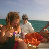04 Caye Caulker Sailing All the girls