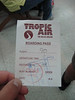 Boarding Pass to San Pedro Town