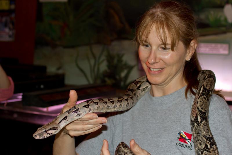 Serena Smith snake charmer
