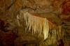 Cave wall formations, ATM cave.
