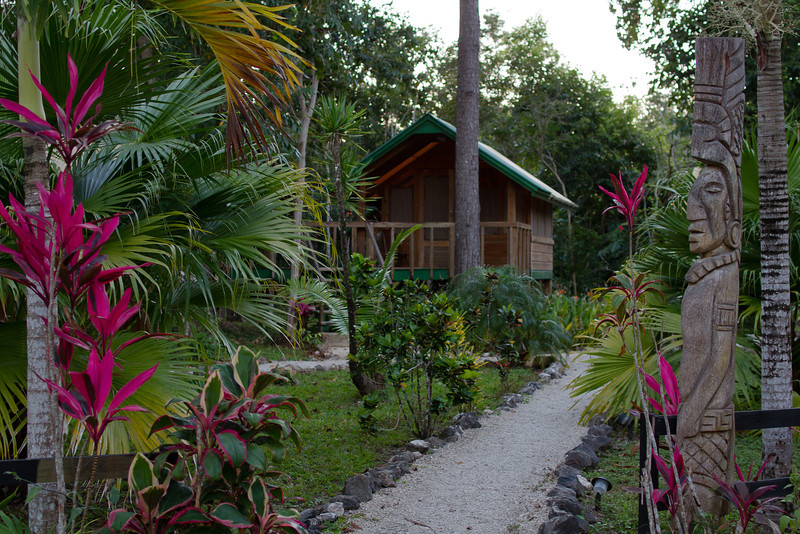 Our arrival at the Belize Nature Reserve