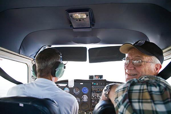 Doug, the co-pilot!