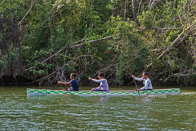 Canoests in Belize River