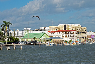 Belize City  harbour
