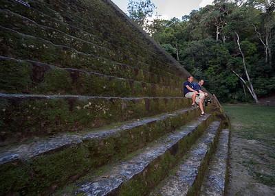 John and Nestor, Tikal, Guatemala