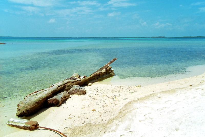Tobacco Caye, Belize, March 2004