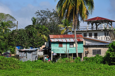 Travelling from Flores in Guatemala back to Mexico via Belize