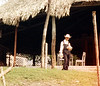 Mennonite boy sells peanuts to tourists.<br /> There is a large Mennonite population in Belize.