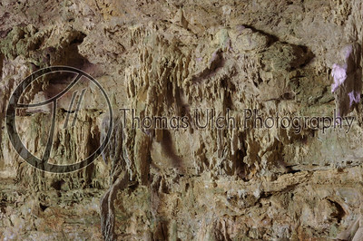 These are stalactites inside the Rio Frio cave. Augustine, Belize.