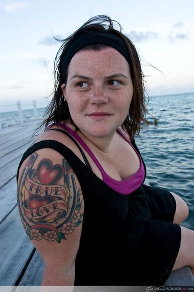 Eliza, Ambergris Caye.