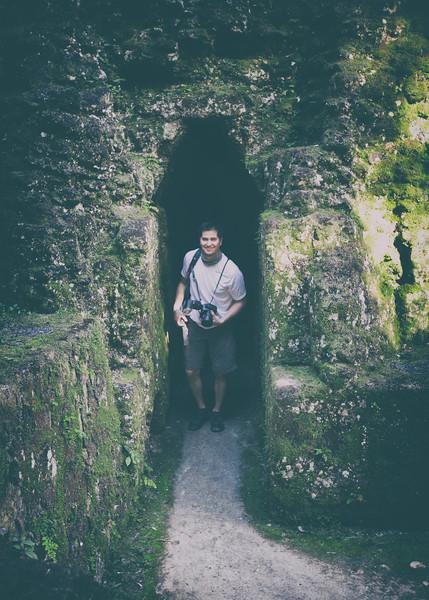 Dillon at Tikal