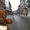 This is the street (Saint Louis) to the Chateau Frontenac.