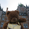 "This is the Chateau Frontenac behind me. The allies had a big meeting here in World War II to plan the U.S. invasion of Normandy.<br /> <a href=""http://www.virtualtourist.com/travel/North_America/Canada/Province_of_Quebec/Quebec-905108/Things_To_Do-Quebec-Chateau_Frontenac-BR-1.html"">http://www.virtualtourist.com/travel/North_America/Canada/Province_of_Quebec/Quebec-905108/Things_To_Do-Quebec-Chateau_Frontenac-BR-1.html</a>"
