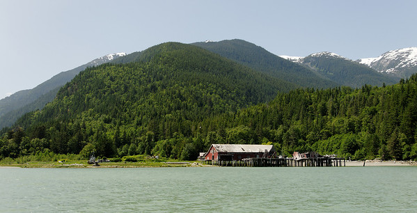 Abandoned Talheo Cannery, 30 minutes by water from the Government Wharf at Bella Coola. Now a restaurant and B&B.
