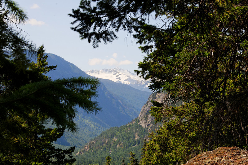 View from the Tweedsmuir Trail.