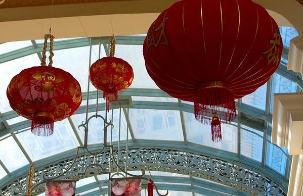 Bellagio Conservatory Chinese New Year 2015
