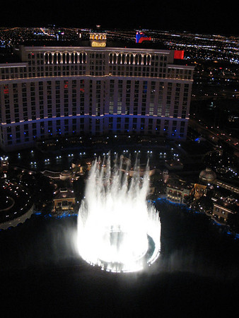 Bellagio Fountain, Las Vegas, NV.