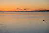 Sunrise approaching across the Bay of Quinte.